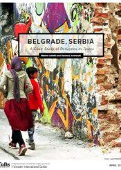 European migrant crisis in Belgrade