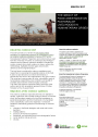 Impact of food assistance on Pastoralism Evidence Brief