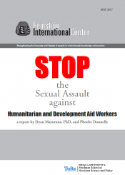 Humanitarian Action, Sexual Assault, Human Rights, Policy Development research
