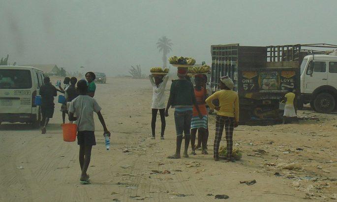 street vendors in Nigeria