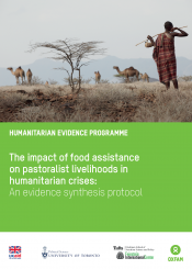 Pastoralist livelihood intervention protocol cover