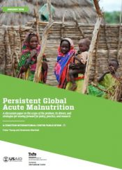 persistent global acute malnutrition