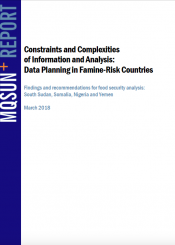 data planning in famine