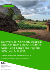 recovery in northern Uganda