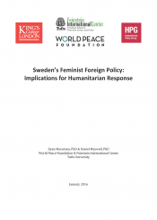 Sweden's feminist foreign policy